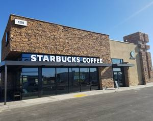 Renaissance Marketplace: Starbuck Now Open