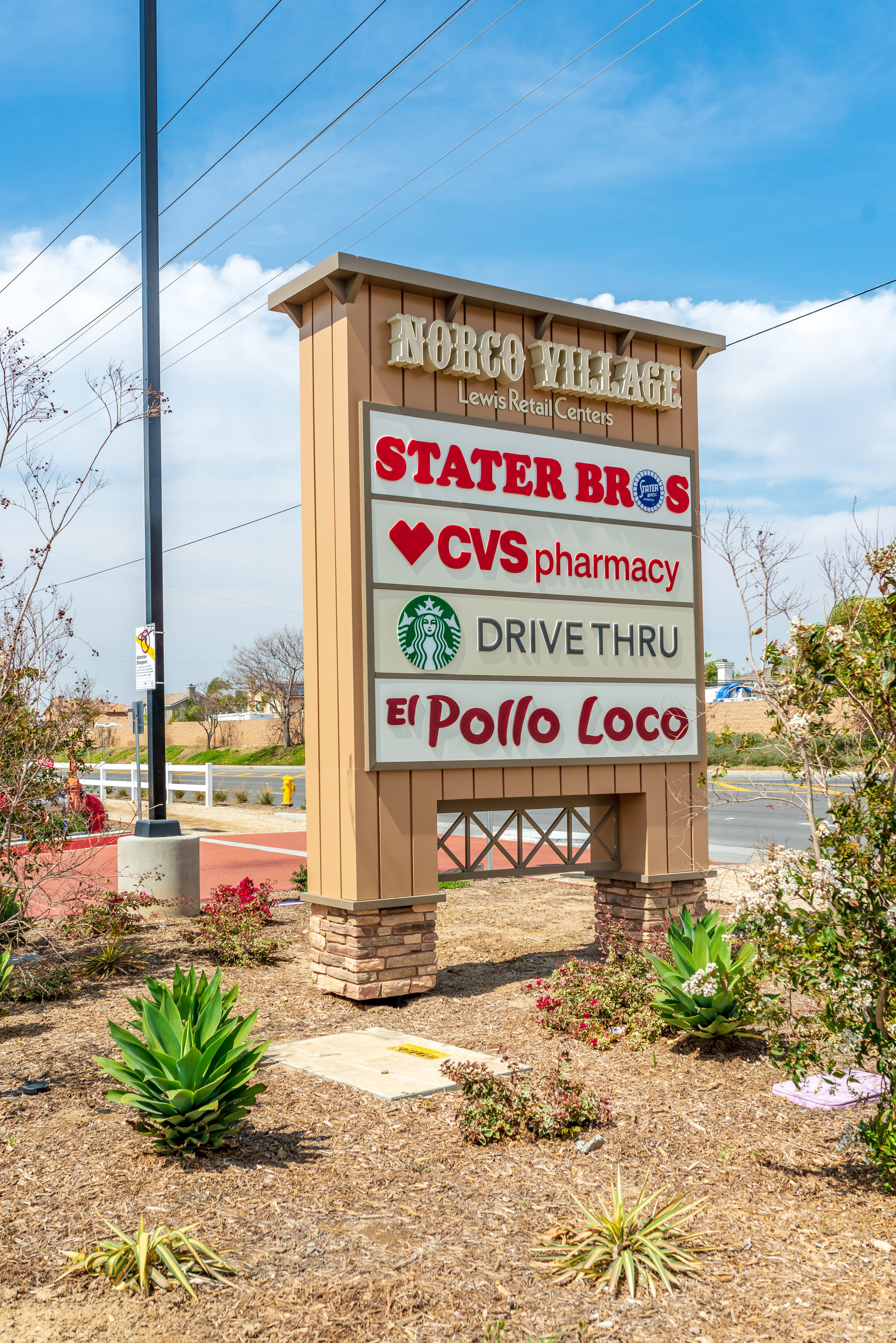norco ca norco village retail space for lease lewis retail centers